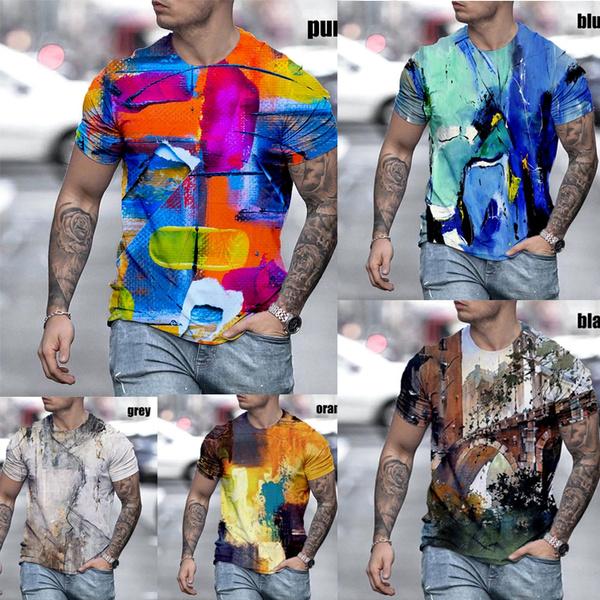 Summer, Plus size top, Cotton T Shirt, Sleeve