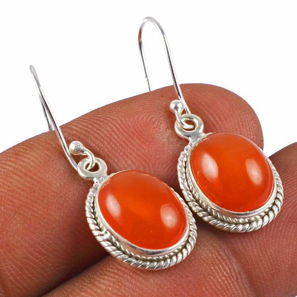 Antique, Fashion, Dangle Earring, Sterling Silver Earrings
