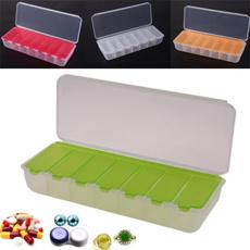 case, pillbox, pillcase, Colorful