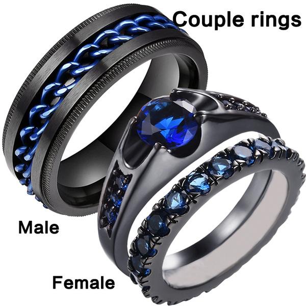Steel, Plus Size, wedding ring, Engagement Ring