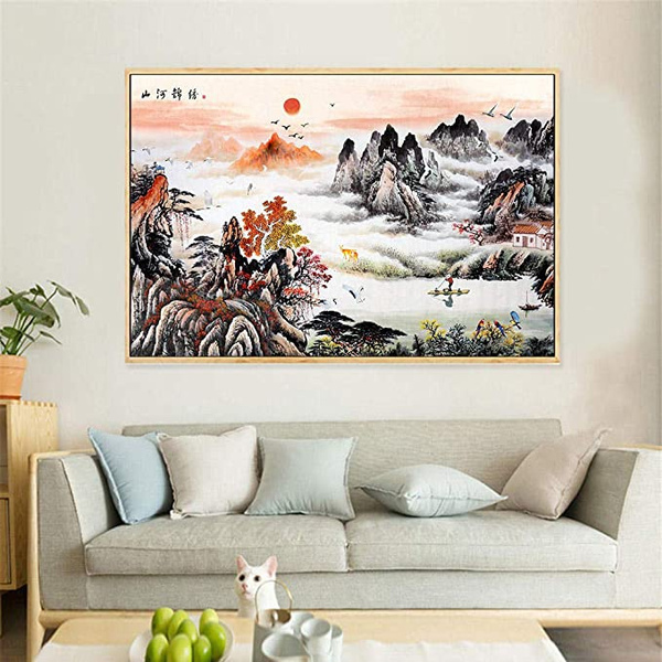 art, Chinese, Posters, officedecoration
