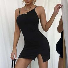 Summer, slim, springandsummerwomensclothing, slim dress