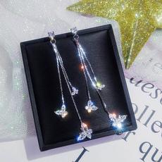 butterfly, Tassels, Dangle Earring, butterfly earrings