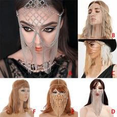 Tassels, Fashion, Masks, Chain