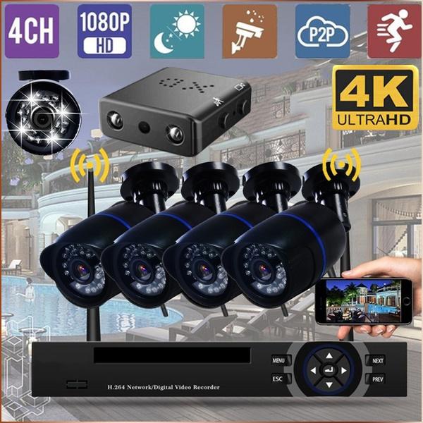 securitycamerasystem, Outdoor, Monitors, Hdmi