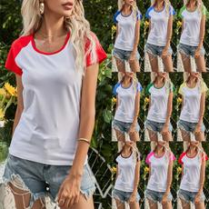 blouse, Round neck, Plus Size, Necks