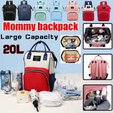 travel backpack, Fashion, Capacity, mummybag