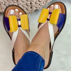 Summer, Flip Flops, flatslipper, sliponslipper