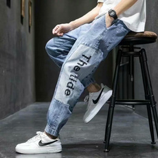 Jeans, Fashion, Waist, Elastic