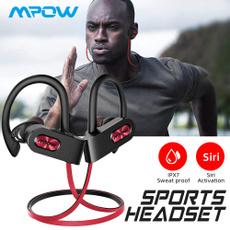 Stereo, Sport, Earphone, wirelessbluetoothaccessorie