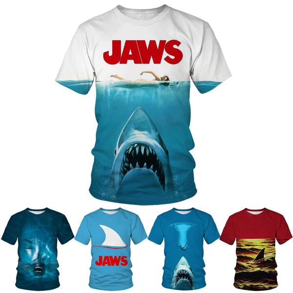 Summer, Shark, Fashion, oceantshirt