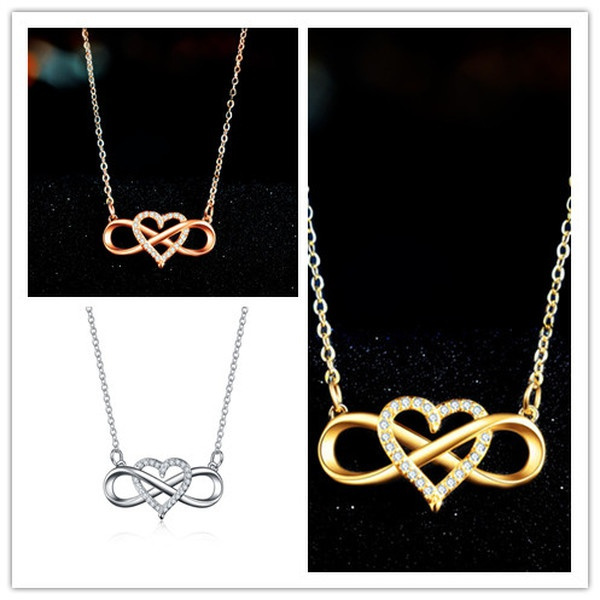 clavicle  chain, DIAMOND, Love, Jewelry