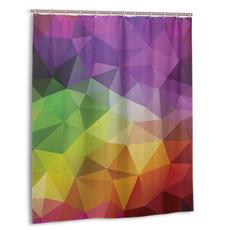 Shower, waterproofshowercurtain55x72inch, Colorful, showercurtain48x72in