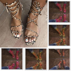 serpentinesandal, casual shoes, Plus Size, flatsandal