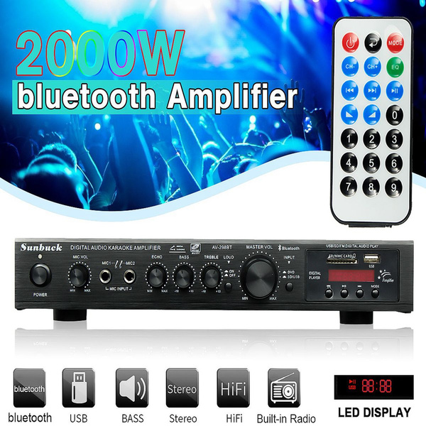 soundamplifier, usb, poweramplifier2000w, stereoamp
