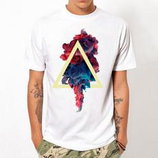 Summer, Design, Tees & T-Shirts, men's cotton T-shirt