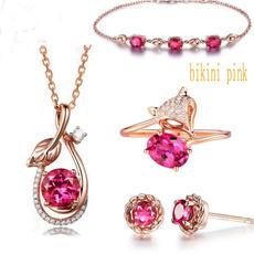 Bracelet, rubyleave, bloodred, colorfulbracelet