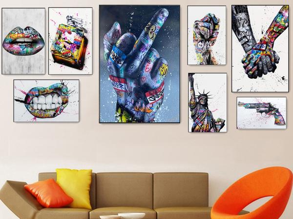 art, canvaspainting, Posters, Modern