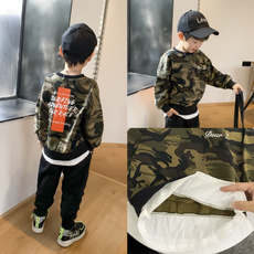 Fashion, camouflage, boyslongsleevedtshirt, childrensfashioncasualtop