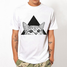 Summer, Tees & T-Shirts, Cotton T Shirt, white tee