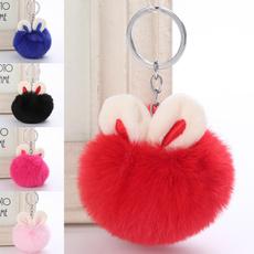 cute, Key Charms, Fashion, fur