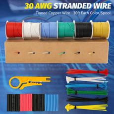 Box, siliconewire30awg, stranded30awginsulatedwire, Copper