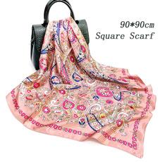 pink, Fashion Accessory, Silk Scarf, Colorful