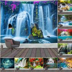 waterfalltapestry, tapestryforbedroom, mandalatapestry, tapestryhippie