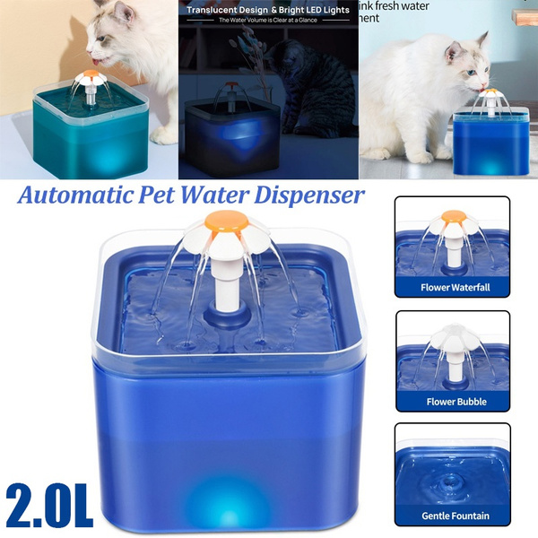 automaticwaterfountain, petwaterfountain, autodrinkingfountain, led