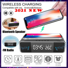 led, mirrorclock, Clock, charger