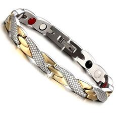 Jewelry, hiphopbracelet, stainlesssteelbracelet, magneticbracelet