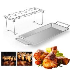 Steel, Grill, stainlesssteelbbqrack, barbecuerack