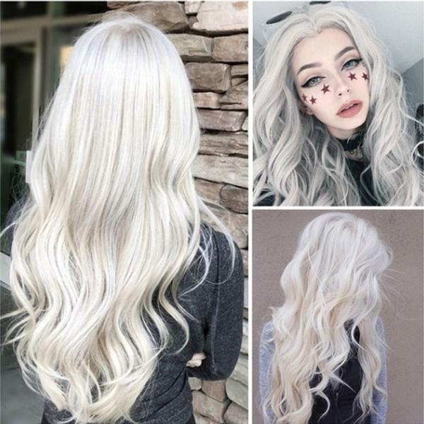 wig, hair, Fashion, blackandgray