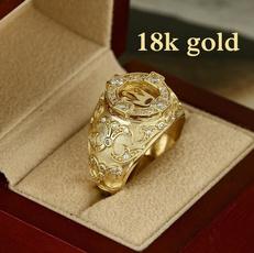 ringsformen, DIAMOND, party, gold