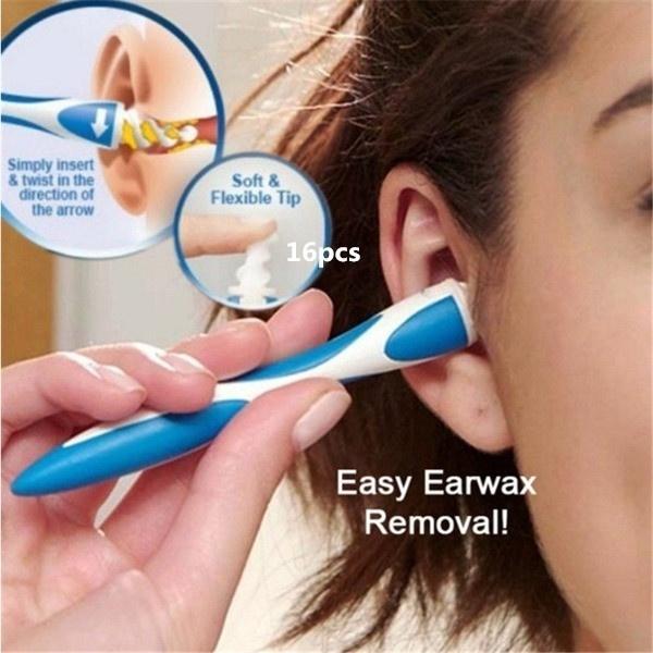householditem, earspoon, Silicone, earwax