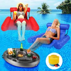 Summer, waterhammock, Tables, Beach