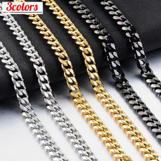 Steel, Sterling, Chain Necklace, mensnecklacechain