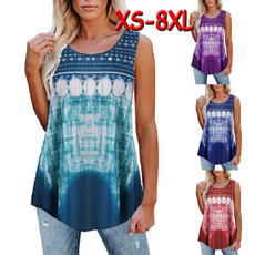 Summer, womens top, tunic top, printed shirts