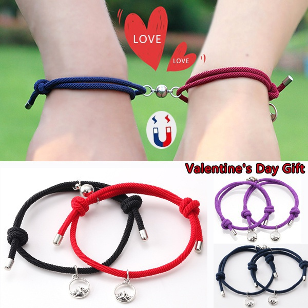 couplesbracelet, Charm Bracelet, Rope, Jewelry
