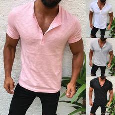Summer, Fashion, halfcardigan, Cotton T Shirt