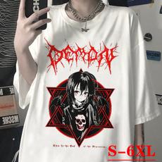 Summer, Goth, Fashion, Shirt