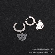 Steel, Head, studentearring, Jewelry