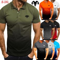 Turn-down Collar, work dress, Fashion, men clothing