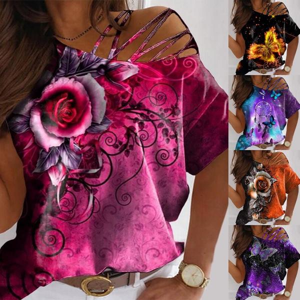 butterflyprint, butterfly, Fashion, teescasual
