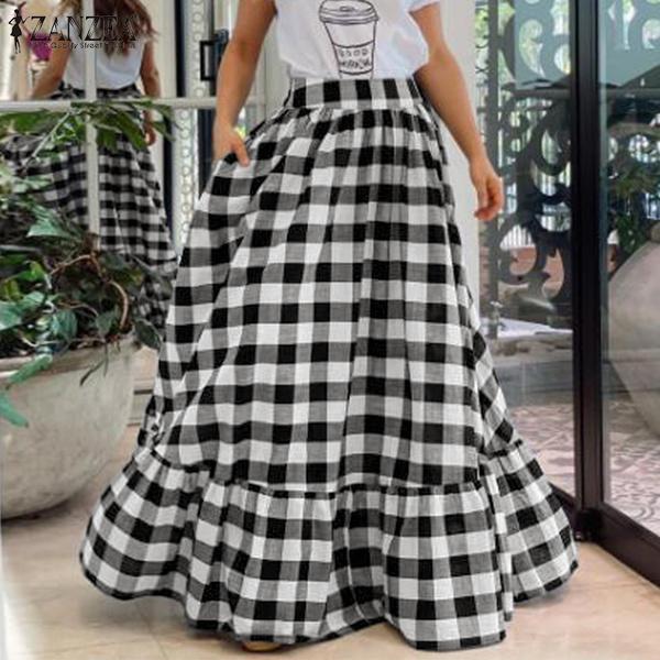 plussizeskirt, long skirt, dressesforwomen, looseskirt