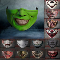 Joker, dustproofmask, festivalmask, skull
