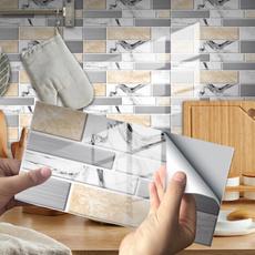 Bathroom, Waterproof, Home & Living, tilesticker