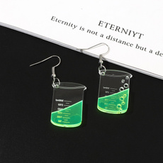 Mini, Fashion, Jewelry, Creative earrings
