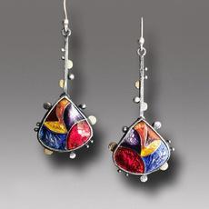 bohemiandrop, enamel, Colorful, Crystal