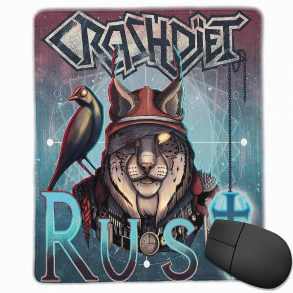crashdietthemousepad, mouse mat, Mouse, nonslipmousepad